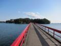 [宮城県][松島]出会い橋から福浦島へ