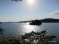 [宮城県][松島]福浦島 弁天堂前からの展望
