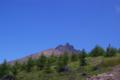 [北海道][駒ヶ岳]9合目付近から見る剣ヶ峰と円山