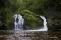 [北海道]巨岩の滝