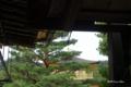 [京都]鹿苑寺(金閣寺) 陸舟の松に留まる鳳凰像