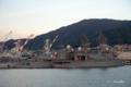 [広島県][呉][海上自衛隊艦艇]TV-3517 しらゆき(左)・ATS-4203 てんりゅう(右)