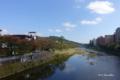 [石川県][金沢]浅野川大橋から東山方面を望む