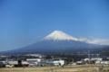 [富士山][静岡県]新幹線車窓から見る富士山