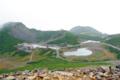 [長野県][乗鞍]乗鞍富士見岳から望む乗鞍畳平全景