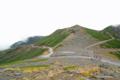 [長野県][乗鞍]乗鞍大黒岳中腹から富士見岳を振り返る