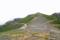 乗鞍大黒岳中腹から富士見岳を振り返る