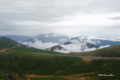 [長野県][乗鞍]乗鞍スカイライン越しに望む穂高連山
