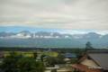 [長野県]車窓から見る常念山脈