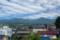 ほんまち長屋館裏から望む浅間山