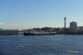 [横浜]大さん橋から望む日本郵船氷川丸と横浜マリンタワー
