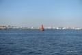 [横浜][海]横浜港内防波堤灯台(赤灯台)