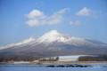 [北海道][冬景色]雪の北海道駒ヶ岳