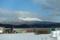 [北海道][冬景色]冬の樽前山