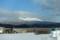 冬の樽前山