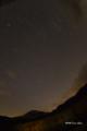 [長野県][上高地][空][星]焼岳と星空