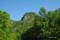 登山口付近から望む円山