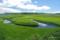 雨竜沼湿原を流れるペンケペタン川