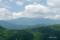 長万部岳山頂から望む狩場山塊