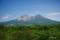 森町側から北海道駒ヶ岳を望む