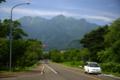 [北海道]東大演習林駐車帯から望む芦別岳