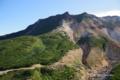 [北海道][美瑛][富良野]D尾根中腹から望む崖尾根・三段山