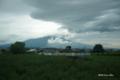 [青森県]特急「つがる」車窓から望む岩木山