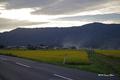 [岩手県][遠野]金色の野・空と息づく煙