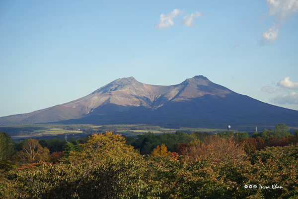 森町 道の駅「YOU・遊・もり」から望む北海道駒ヶ岳
