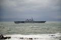[島根県][出雲][護衛艦]出雲日御碕沖に停泊中のDDH-183「いずも」