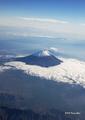 [空撮][富士山]羽田→出雲空路途上から望む富士山