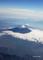 羽田→出雲空路途上から望む富士山