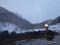 見市温泉旅館露天風呂の風景