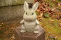 [島根県][出雲大社][寺社仏閣]野見宿禰神社のウサギ像 右側