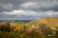 [島根県]国引きの丘展望台から出雲大社方面を望む