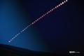 [月][月食]2021年5月26日皆既月食 タイムラプス撮影(3分毎)