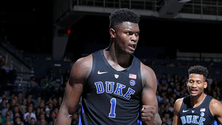 Zion Williamson NBA draft