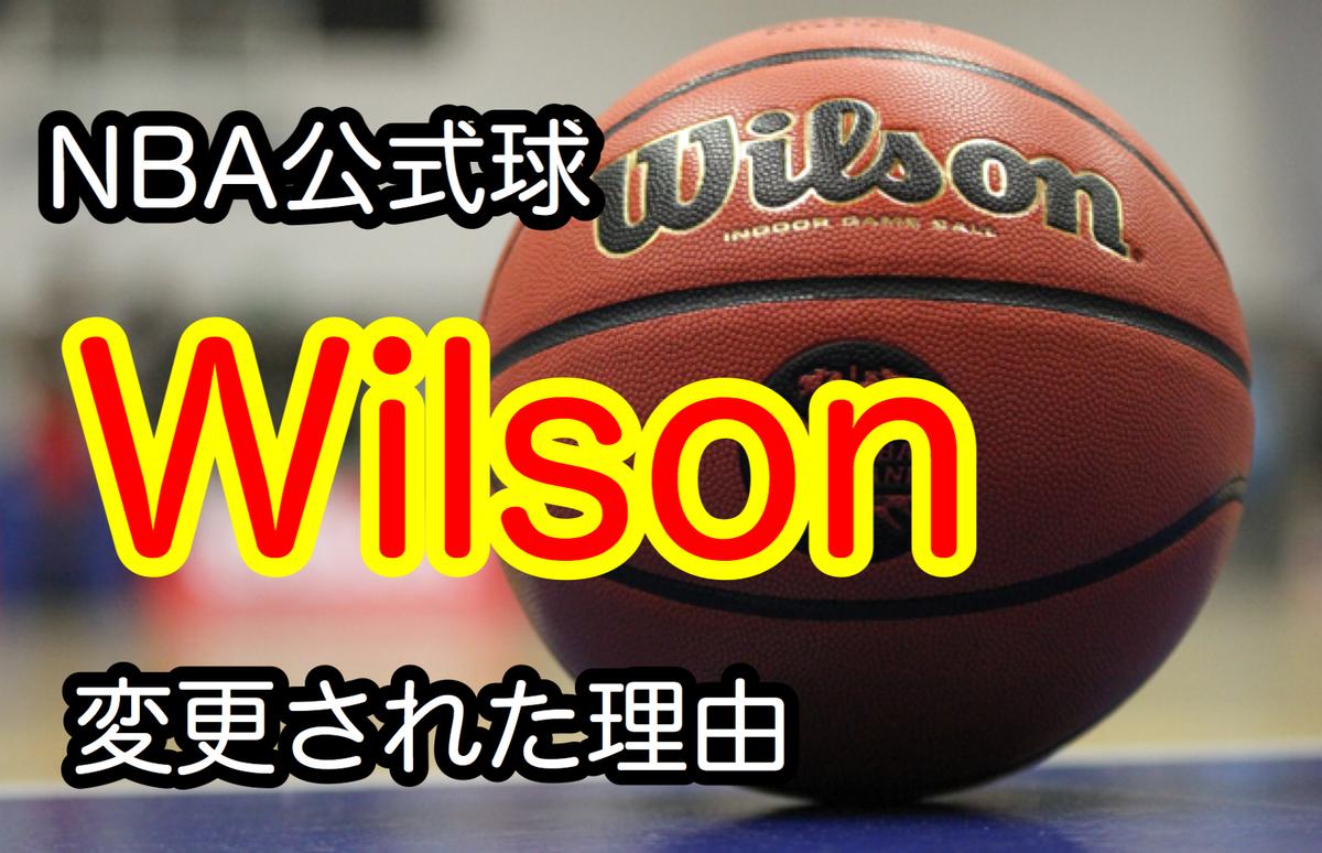 NBA 公式球 Wilson ウィルソン
