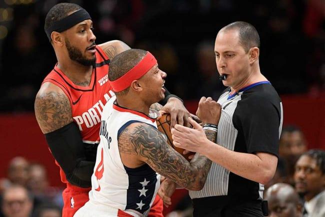 NBA 審判 うまくできない