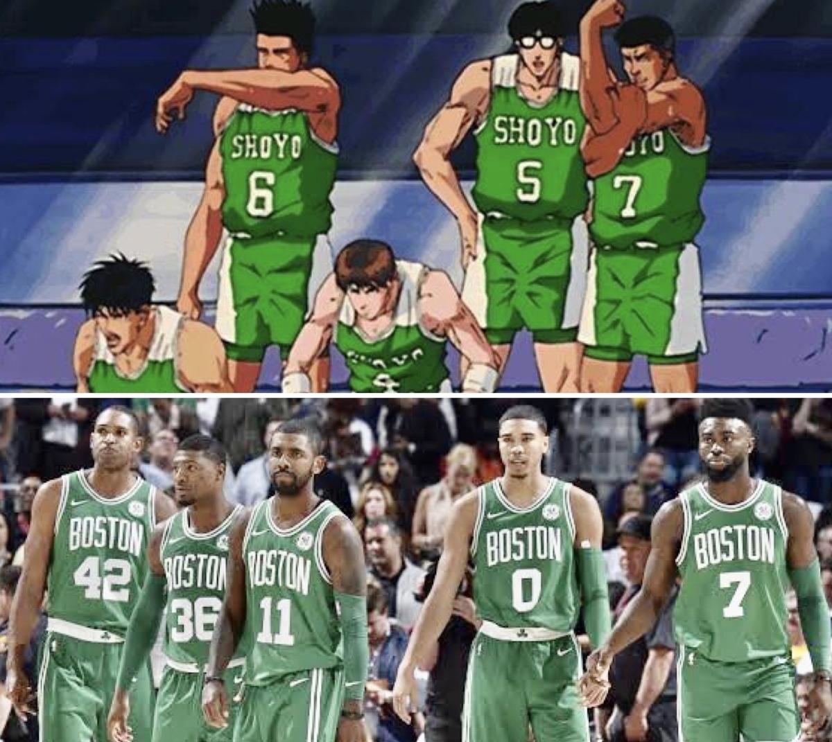 NBA スラムダンク セルティックス
