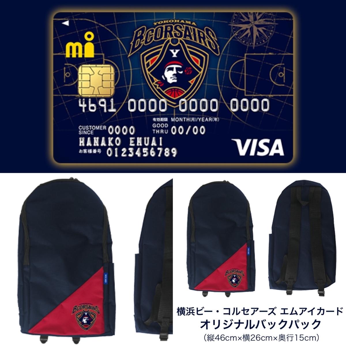 Bリーグ クレジットカード ビー コンセアール 横浜