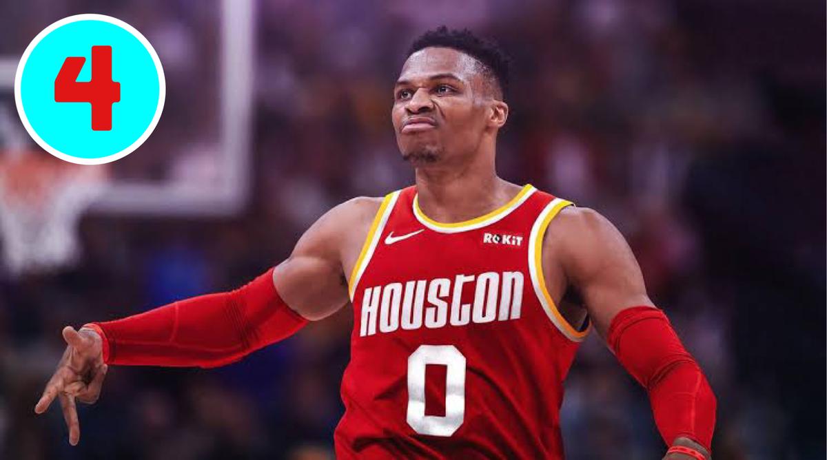 ウエストブルック NBA 年収 4位