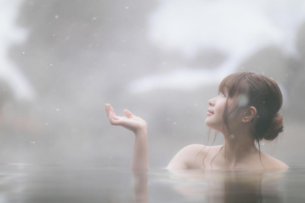 雪山のお風呂