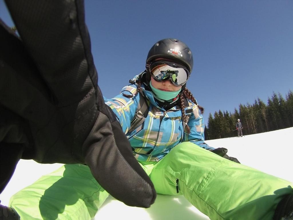スノーボード女子はオシャレ