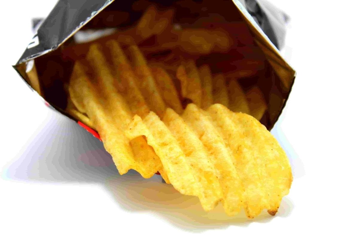 中毒性のあるポテトチップス