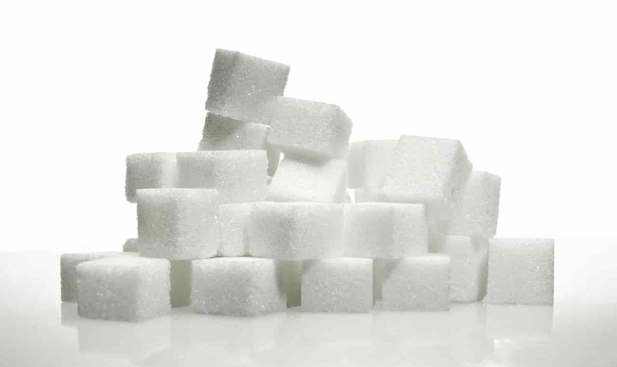 アイスクリームに含まれている大量の砂糖