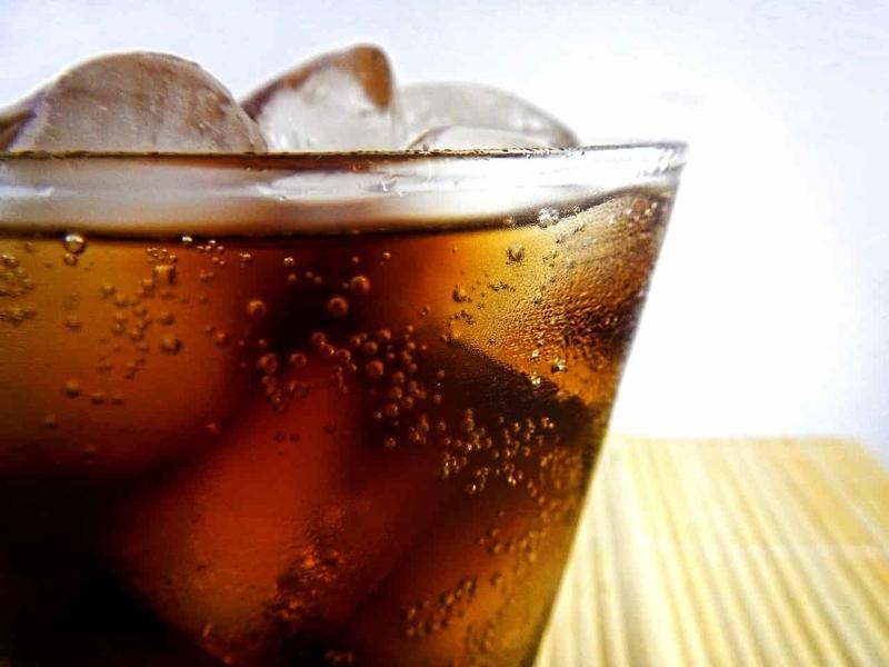 炭酸飲料のコーラ