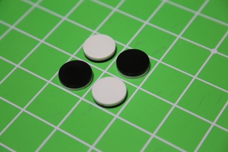 ゼロサムゲームのオセロとリバーシ