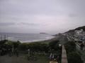 鎌倉海浜公園 遠くに江ノ島