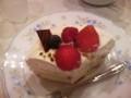 センパイ夫婦に祝ってもらった誕生日のケーキ